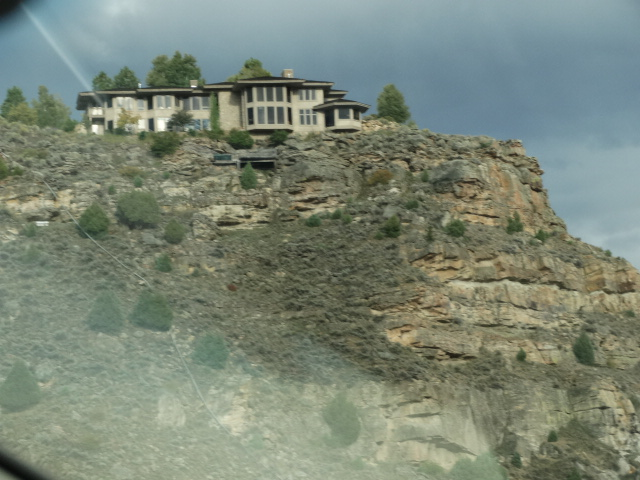 Home on Rocky Ledge